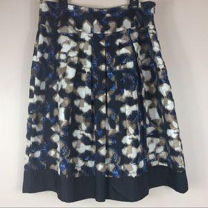 Dana Buchman 100% Silk Skirt Fully Lined Sz 8